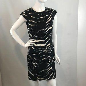 Michael Kors Zebra Print Sheath Dress